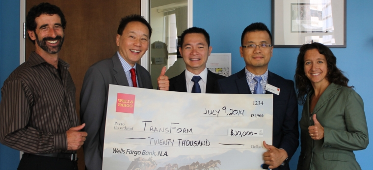 Wells Fargo Giant Check