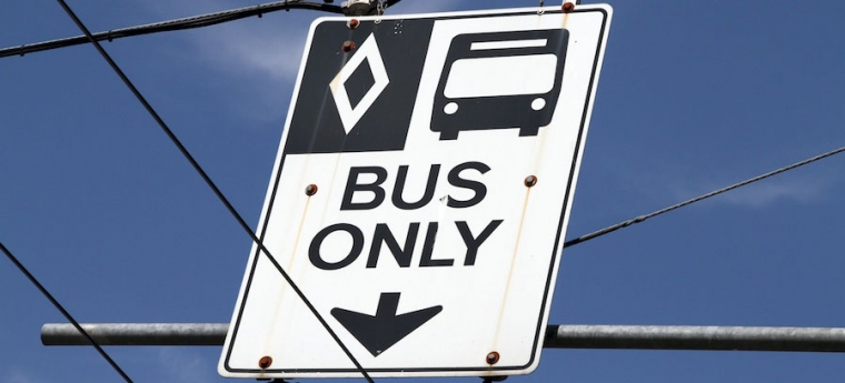 Bus Only Lane