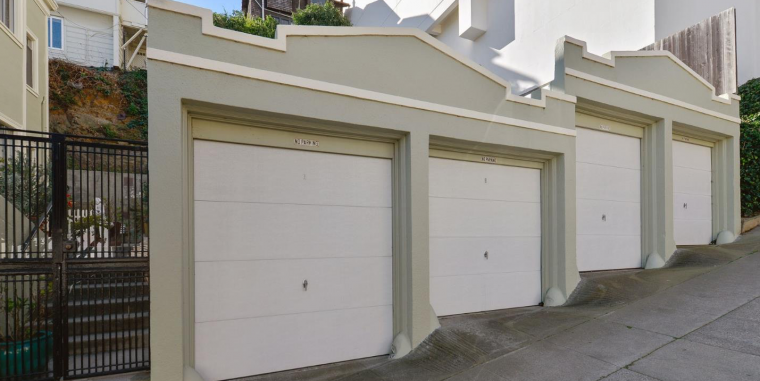 Residential parking spots in San Francisco take up valuable real estate