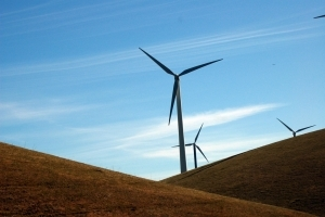 Altamont Pass wind turbine_Flickr KQED