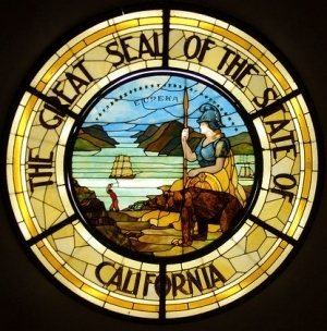 California state seal, photo credit Flickr How I See Life