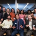 Members of TransForm's Board and staff celebrate at our LIVE Awards + Benefit event