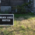 Image: a Black Lives Matter yardsign. Photo: Flickr Paul Sableman