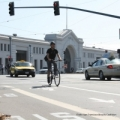 Bicyclist in SF