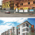 Casa Arabella plan and construction, Fruitvale Transit Village