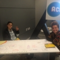 Students from ACE, Alliance for Climate Education, volunteer at the Let's Get Moving Summit