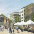 Rendering of Agrihood Senior Projects in Santa Clara, a GreenTRIP Certified develompent