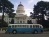 State capitol and bus