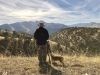 Governor Brown and his dog looking out over his ranch. URL: https://twitter.com/JerryBrownGov/status/1082384008539828224